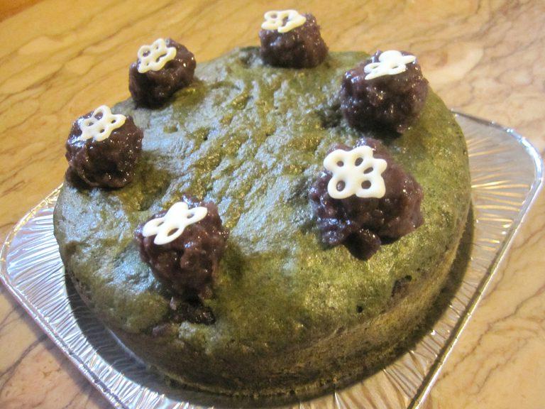 和風よもぎケーキ