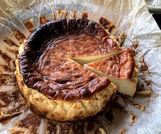 森のバスクチーズケーキ